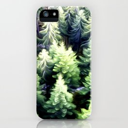Tree Art Two iPhone Case