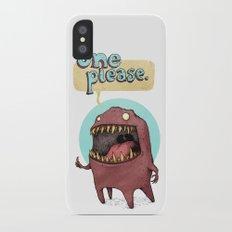 One Please (Alternate) iPhone X Slim Case