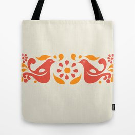 Friendship Pattern Tote Bag