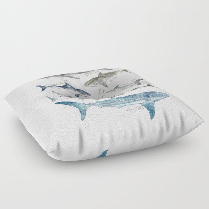 Sharks Floor Pillow