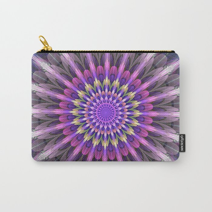 Flowering like sunbeams Carry-All Pouch