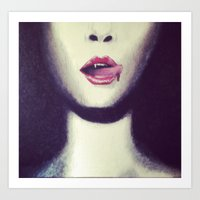 true blood Art Prints featuring Blood by Kayleigh Kirkpatrick