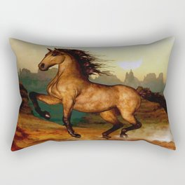 HORSES-Prairie dancer Rectangular Pillow
