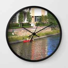 River Life Wall Clock