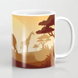 Abstract African Safari Coffee Mug