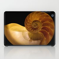 shell iPad Cases featuring shell by littlesilversparks