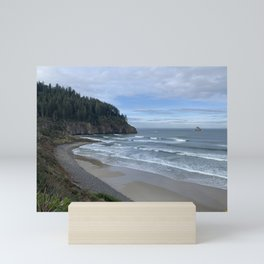 Cape Meares Beach, Tillamook, Oregon Mini Art Print