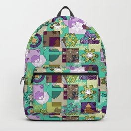Christmas patterns 7 Backpack