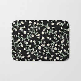 Oxeye (Black) Bath Mat