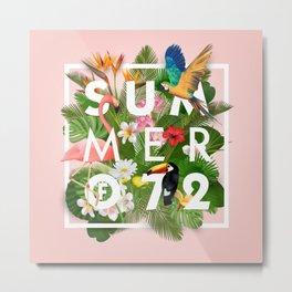 SUMMER of 72 Metal Print