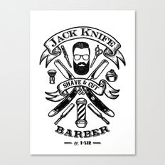 Jack Knife Canvas Print