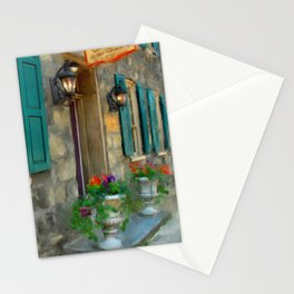 A Victorian Tea Room Stationery Cards