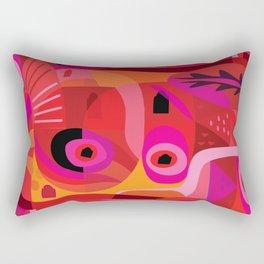 Rosa Mexicana Rectangular Pillow