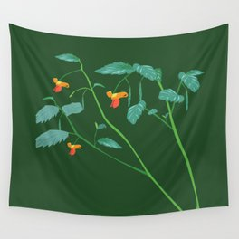 Jewel weed - illustration Wall Tapestry