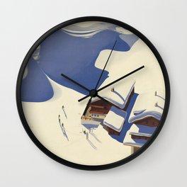 The Alps Wall Clock