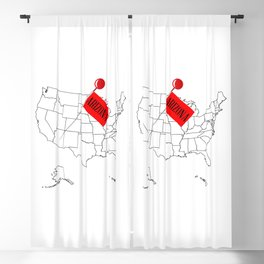 Knob Pin New Arizona Blackout Curtain