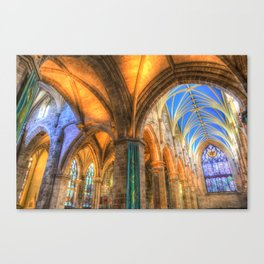 The Cathedral Atmosphere Canvas Print