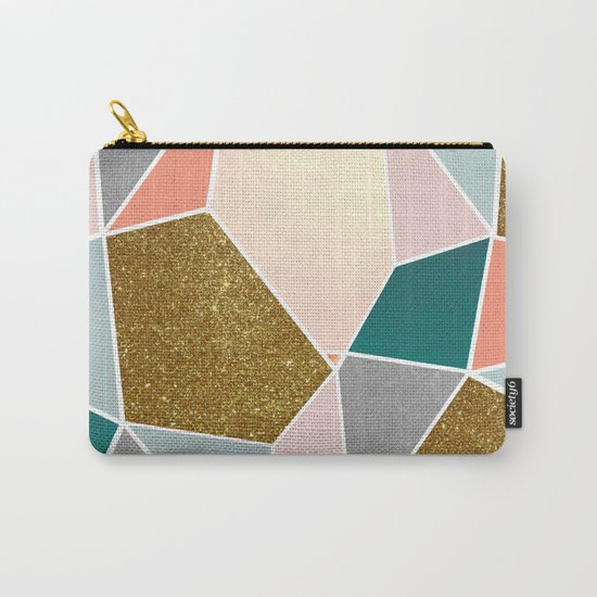 Geometric #society6 #decor #buyart Carry-All Pouch