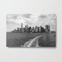 Noir York City Metal Print