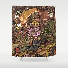 LIFE OF IMAGINATIONS UNTITLED Shower Curtain