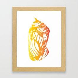 Cannery Row Butterfly Framed Art Print