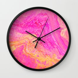 POUR ART 1 ALTERNATIVE 3 Wall Clock