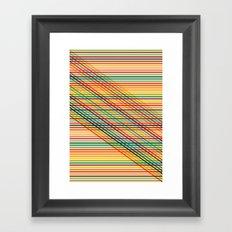 Ovrlap Framed Art Print