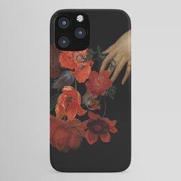 Jan Davidsz. de Heem Hand Holding Bouquet Of Flowers  iPhone Case