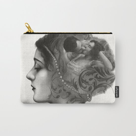 Requiro - pencil drawing Carry-All Pouch