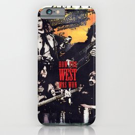 How the West Was Won Led (Live) [Remastered] by Zeppelin iPhone Case
