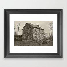 Historical House Framed Art Print