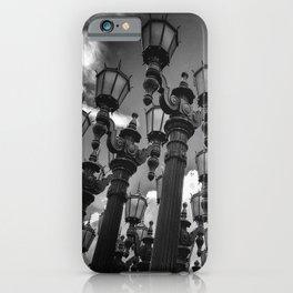Lamposts iPhone Case