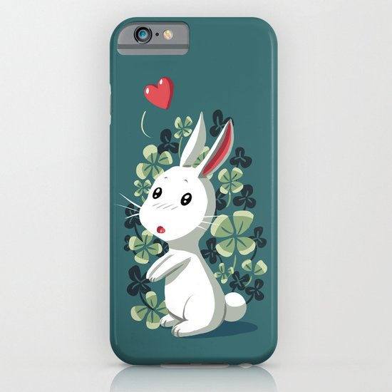 Clover Bunny iPhone & iPod Case