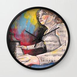 Piano 1 Wall Clock