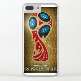 Cup II 2018 Clear iPhone Case