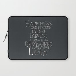 Happiness can be found Laptop Sleeve