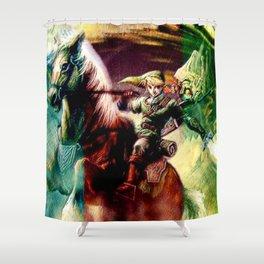 Zelda legend Shower Curtain