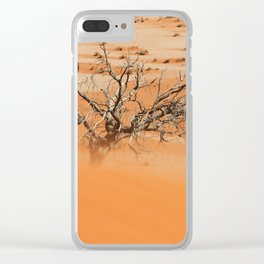 NAMIBIA ... Namib Desert Sandstorm Clear iPhone Case
