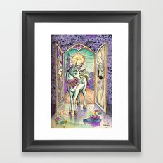 The Interior Castle- Last Unicorn Framed Art Print
