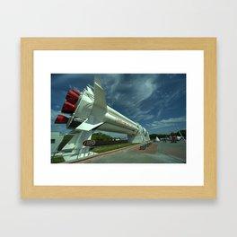Saturn 1B  Framed Art Print