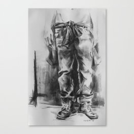 From Rags to Riches Canvas Print
