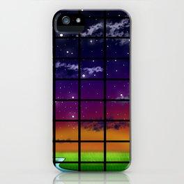 Grid Work iPhone Case