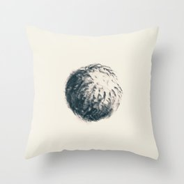 Framed Sketches - Undergrowth: Furball Throw Pillow