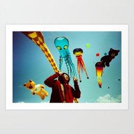DUDI AND ALL HIS FRIENDS Art Print