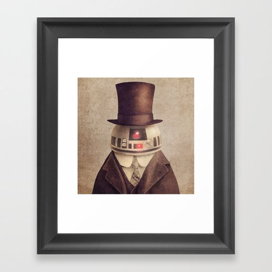 Duke R2 Framed Art Print