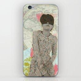 Feminine Collage I iPhone Skin