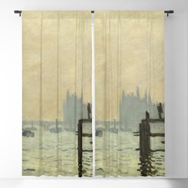 Claude Monet - The Thames below Westminster Blackout Curtain