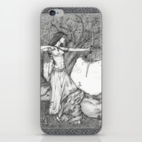 archer iPhone & iPod Skins featuring Archer by Laura-A