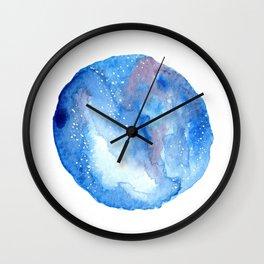 Galaxy stars Wall Clock