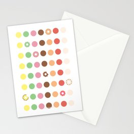DOUGHNUT DOTS Stationery Cards